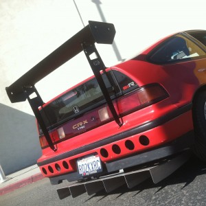 Honda CRX Rear Wing